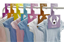 Little Pals Baby Wardrobe Dividers Pack of 7 Hangers | Organise Baby's Clothes