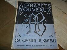 revue Alphabet Nouveau Collection Bleuet . Broderie