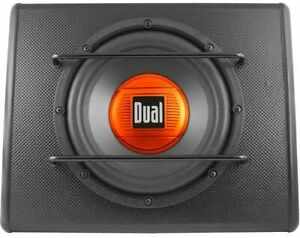 """ALB10 RB 300 Watts Amplified 10"""" Ported Subwoofer Sub Box Enclosure Built In Amp"""