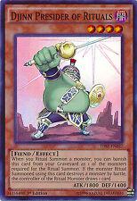 Djinn Presider of Rituals Super Rare Holo Yugioh Card THSF-EN037