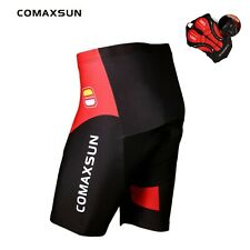 Comaxsun Cycling Shorts Gel Padded Shockproof Mtb Bicycle Road Tights Size S-3Xl