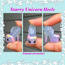 HANDMADE Shopkins STARRY  UNICORN HEELS SHOES - Season 9 Limited Edition