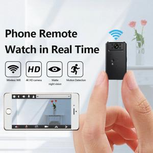 Mini Spy Camera Wireless Wifi IP Security Camcorder HD 4K 1080P DVR Night Vision