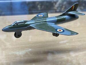 Dinky Toys 736 Hawker hunter model Meccano England 1960's era