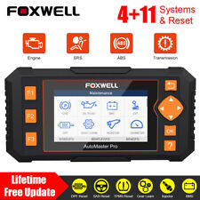 Foxwell NT634 Car Full OBD2 ABS SRS Diagnostic Scanner BRT TPMS DPF Code Reader