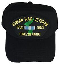 KOREAN WAR VETERAN 1950 - 1953 FOREVER PROUD W/ SERVICE RIBBON AND KOREA OUTLINE