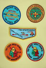 BSA Tri-State Area Badges