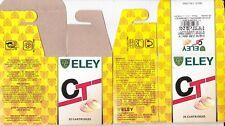 1287) ELEY CT FIBRE 20g 70mm 24gr No 7 1/2 SHOTSHELL BOX