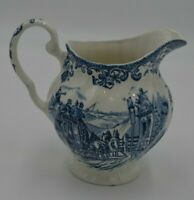 Johnson Brothers England Coaching Scenes Ironstone Passing Through Creamer