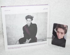SHINee Jong Hyun Mini Album Vol.1 Base Korean CD+photo Card (JongHyun)