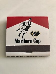 Full MARLBORO CIGARETTES 1970's MATCHES MATCH BOX ADVERTISING WAFL CUP