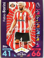 Match ATTAX 2016/17 Premier League - #269 Fabio Borini-Sunderland A.F.C.