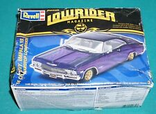 '65 Chevy Impala SS Hardtop Lowrider Magazine Revell 1/25 Complete & Unstarted.