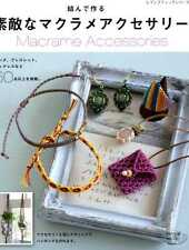 Macrame Accessories - Japanese Craft Book SP3