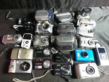 Lot of 23 Digital Cameras - Camcorders / As Is