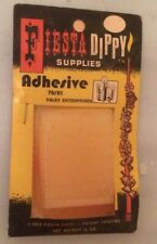 Vintage Fiesta Dippy Supplies Adhesive by Yaley Sealed New old Stock Nos