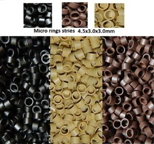 Set 100 200 Rings / Microrings For Cold Extensions Shipping Express 48h