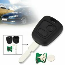 2 Buttons 433Mhz Remote Key Fob Uncut Blade With ID46 Chip For Peugeot 406