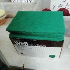 3 x Scotchbrite Mop 80 x 50 x 6 pour le nettoyage des métaux en plastique rouille Polissage fine