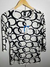 1 Nwt J'Envie Women'S Sweater, Size: X-Large, Color: White/Black (J54)