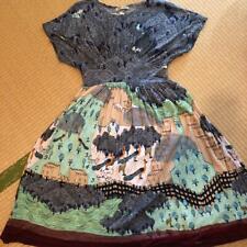 Tsumori Chisato Cute Design Dress Knee length Black Japan Issey Miyake D417