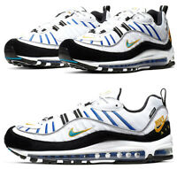 Nike Air Max 98 PRM Teal Nebula Running Athletic Shoes BV0989-102 Size 11.5