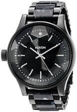 Nixon Men's A3842185 Facet 42mm Black Dial Multi-Color bracelet A384-2185