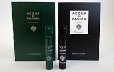 ACQUA DI PARMA COLONIA CLUB & COLONIA ESSENZA COLOGNE 1.2ml 0.04oz SPRAY SAMPLE