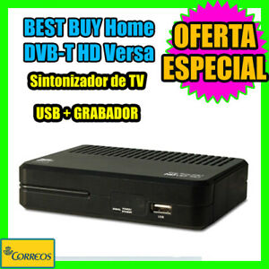 Sintonizador TDT HD Receptor TDT HD VERSA EASY Home DVB-T HD USB MULTIMEDIA