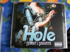 Courtney Love  signed cd booklet Nobody's Daughter band HOLE RARE
