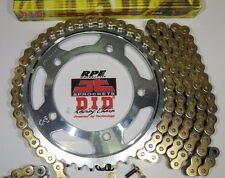 DID X-Ring  HONDA VFR800 Fi '02/13 CHAIN AND SPROCKET KIT  * OEM 530 or CUSTOM *