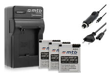 Chargeur + 3x Batteries AHDBT-301 pour GoPro Hero3 Black, White & Silver Edition