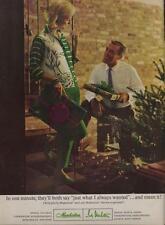 1962 Lady Manhattan PRINT AD Gifts Manhattan & Lady Manhattan Christmas themed