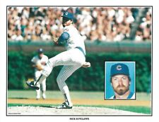 "Chicago Cubs 8 1/2"" x 11"" 1986 Unocal 76 Paper Baseball Cards - 20 of 20 - Mint"