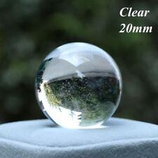 Clear/Pink/Purple Fluorite Quartz Stone Crystal Ball Healing Gemstone Glass