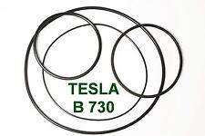 SET RIEMEN TESLA B 730 TONBANDMASCHINE EXTRA STRONG FABRICKFRISCH NEU B730 B-730