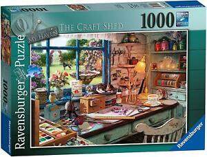 Ravensburger My Haven No 1 The Craft Shed 1000pc Puzzle