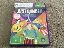 Just Dance 2015 Requires Kinect Sensor (Microsoft Xbox 360) Good Condition