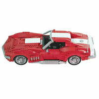 Chevrolet Corvette 1969 Stingray STREET Car Block Technic 1/12 Brick static MOC