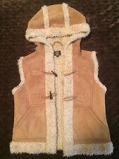 Woman Pure Hype Faux Fur Vest Size S (Size 8)