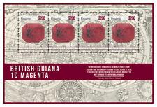 Guyana - 2014 - Rare Stamps British Guiana 1c Magenta - Sheet Of 4 - MNH