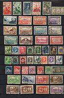 Algérie avant indépendance : 45 timbres dont poste aérienne