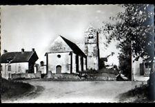 DOMPTIN (02) CHEVAL attelé AGRICOLE aux VILLAS & EGLISE vers 1950-1960