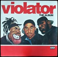 VIOLATOR: THE ALBUM 1999 2X VINYL LP COMPILATION Q-TIP, BIG PUN, BUSTA *SEALED*
