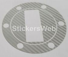Adesivo Tappo Serbatoio APRILIA Shiver 750 2009-2013  (Carbonio Argento) C.0508