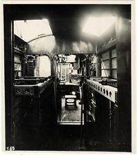 Photo Argentique Aviation Avion Plane Intérieur Farman GoliathF160 Vers 1930