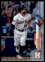 2020 Topps Series 2 Base Rainbow Foil #602 Jose Altuve - Houston Astros
