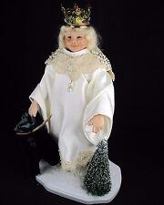 "Collectible German Christkind 14"" all orig Christmas figure Brenda Goin Morris"