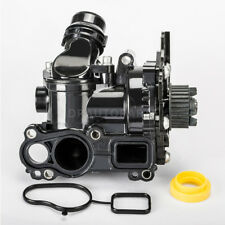 Water Pump Thermostat Assembly Fit For VW Golf Jetta GTI Passat Tiguan Audi A4