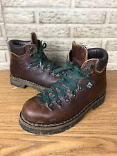 Womens Vintage LL Bean Heavy Leather Mountaineering Treking Boots Sz 9